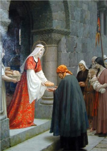 Charity of St. Elizabeth of Hungary - Lord Frederic Leighton