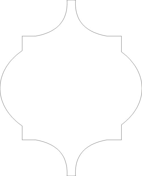 Moroccan stencils free download joy studio design for Moroccan shapes templates