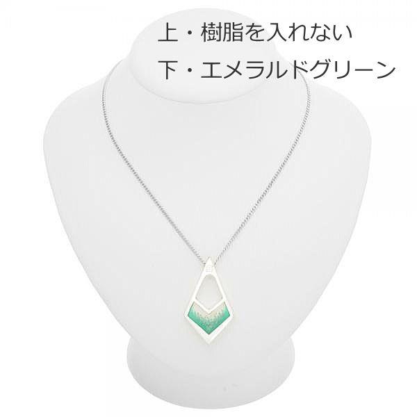 遺骨ペンダント セミオーダー商品 アズール ダイヤ 手元供養の未来創想 シルバー シルバー925 遺骨