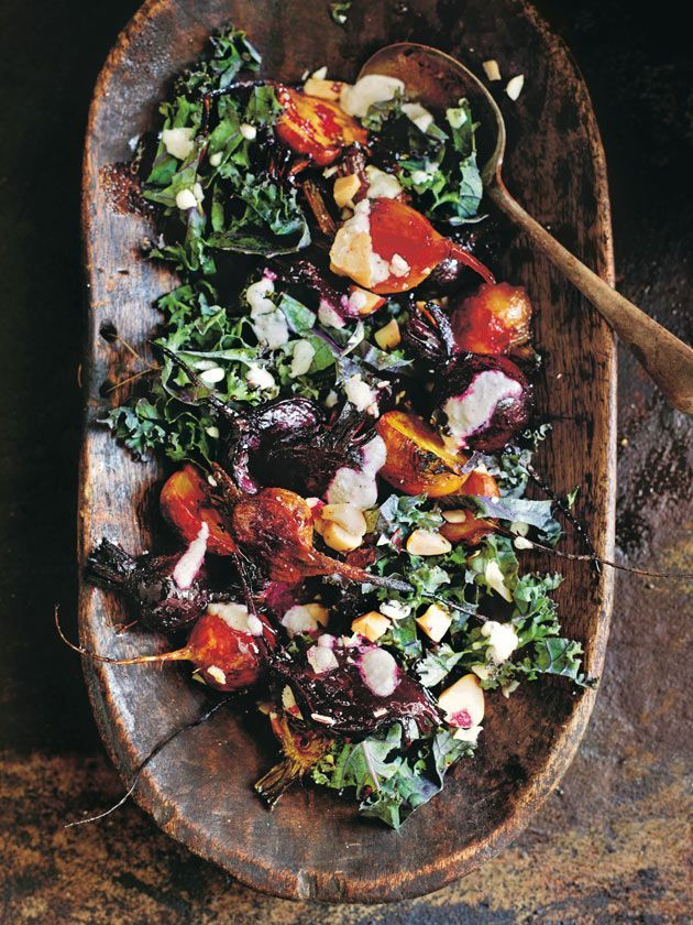 Roast Beetroot And Brazil Nut Salad | Donna Hay