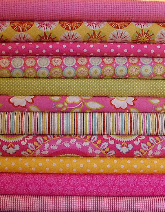 5 Square Bundle of Kumari Garden & by SistersandQuilters on Etsy
