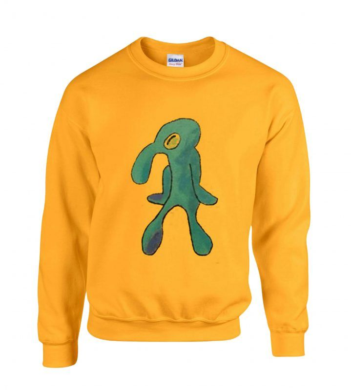 8842602f Squidward Painting Sweatshirt in 2019 | Sweatshirt | Squidward ...