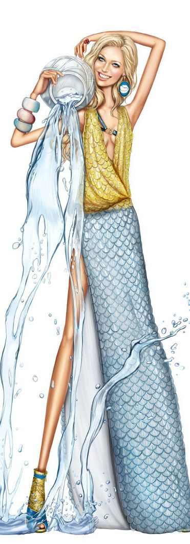 Fashion illustration by Array-Pergamino