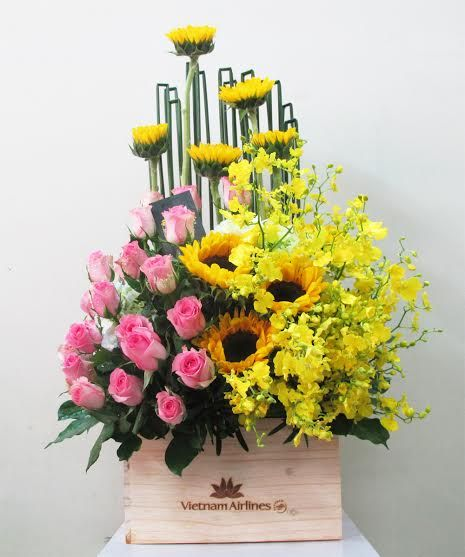 Fresh flowers for fresh air