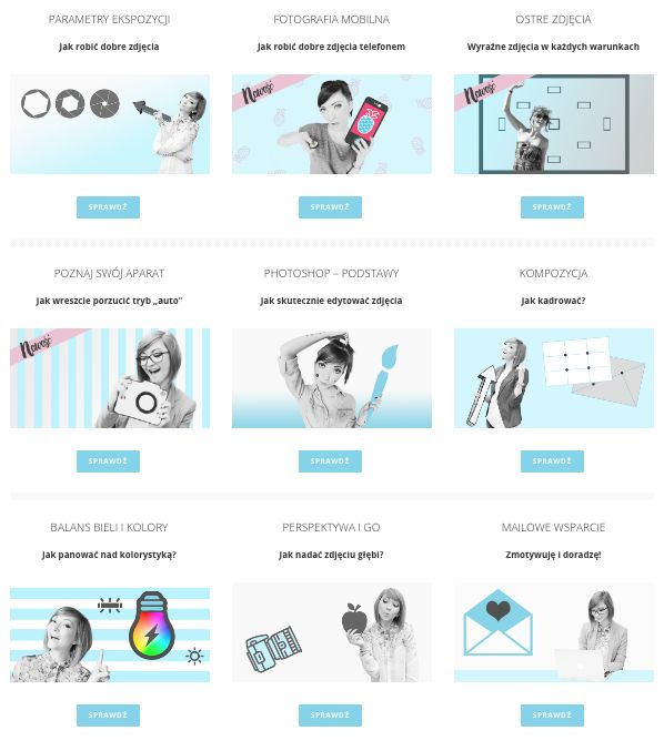 kurs fotografii pdf | lekcje fotografii dla amatorów