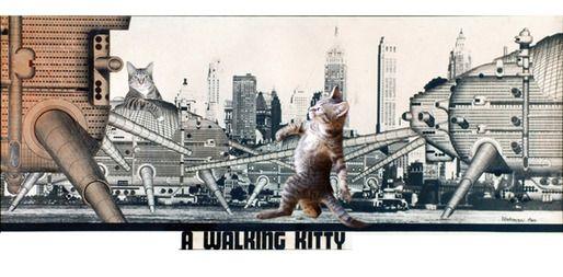 Archigram's Walking Kitty