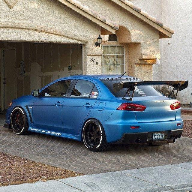 #Mitsubishi #EvoX #Modified