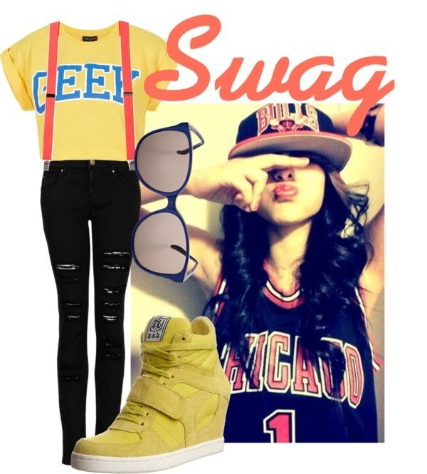 """Swag outfit"" by iluvhabs on Polyvore"