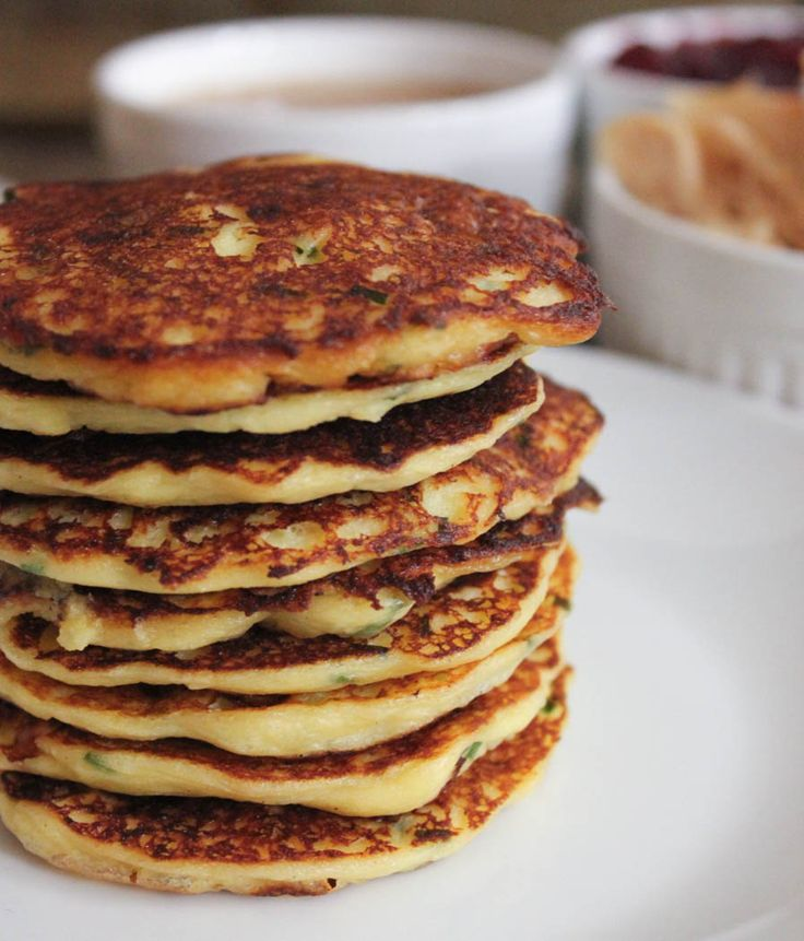 Mashed Potato Pancakes with Goat Cheese and Chives. Make the most of ...