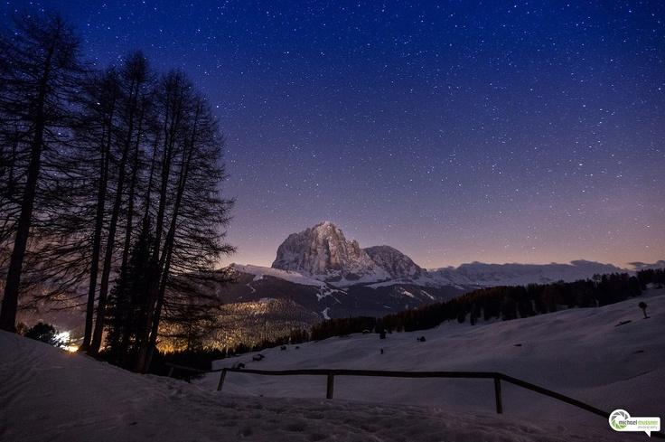 Val Gardena, Sassolungo sotto le stelle