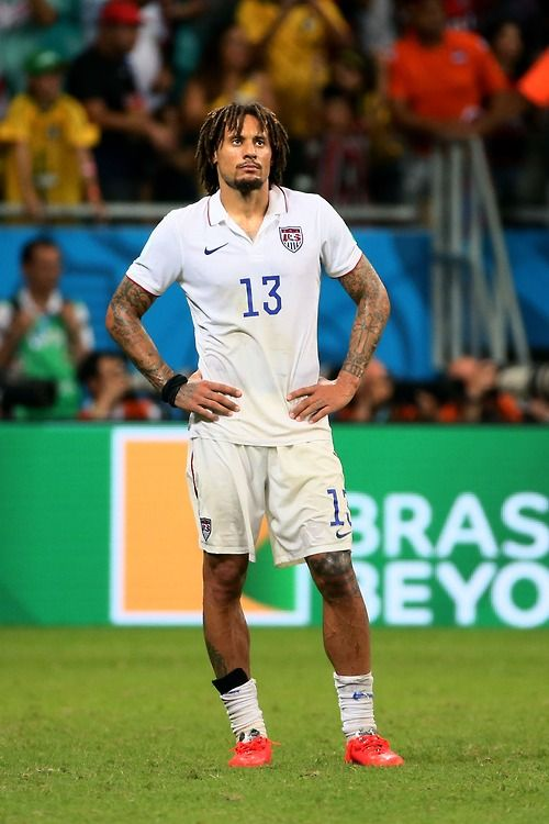 Jermaine Jones;  +USA NT;  +USMNT;  +World Cup;  +World Cup 2014;