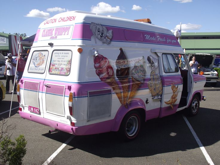 1970 Ford Transit Mk1 Ice Cream Truck