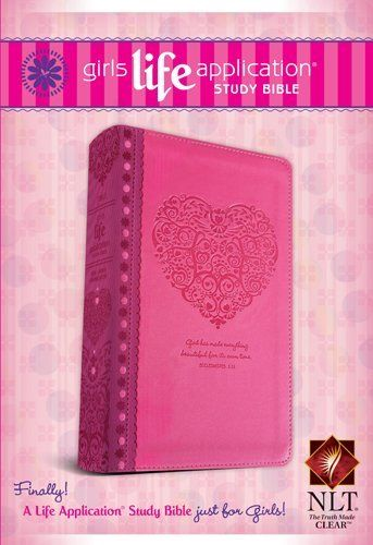 An edition of God's Word created for girls 11 and up, based on the best-selling Life Application Study Bible. Packed full of notes and features, the Girls Life Application Study