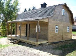 Gambrel Cabins For Sale In Ohio Amish Buildings