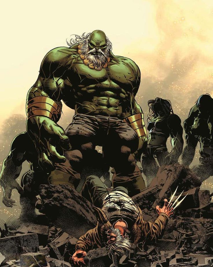 Old Man Logan #26  by Mike Deodato Colors by Frank Martin #maestro #wolverine #hulk #logan