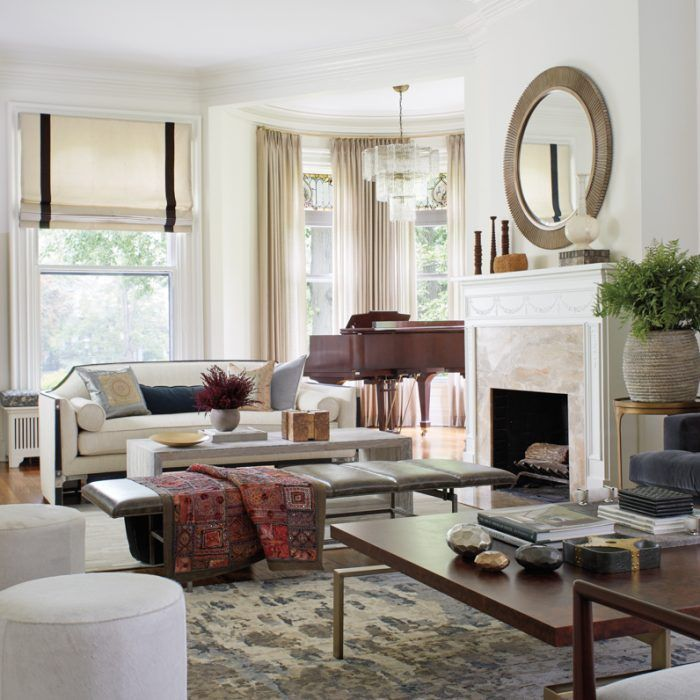 A Couple Updates A Victorian Home They Long Admired Luxe Interiors Design Indian Living Rooms Rectangular Living Rooms Interior Design #sitting #stools #for #living #room