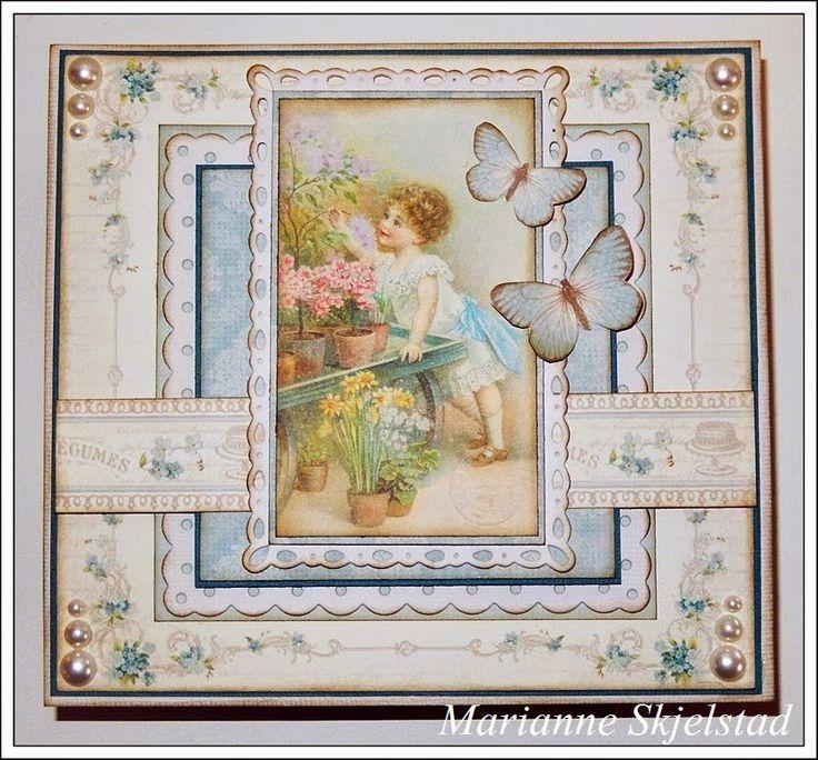 Mariannes papirverden.: Sjokoladeeske - Pion Design