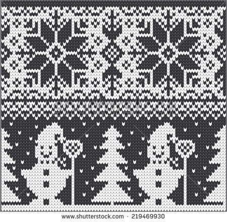 Stock Images similar to ID 226893319 - winter holiday pattern on the...