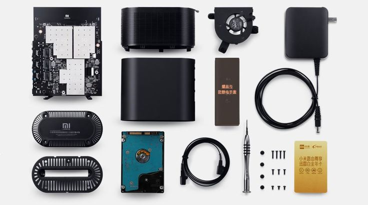 Xiaomi's DIY 802.11ac router ships with a screwdriver and anti-static gloves | Chips | Geek.com