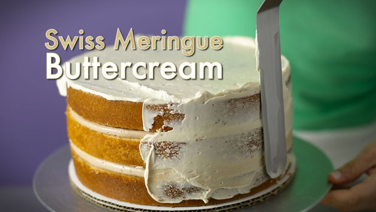 Swiss Meringue Buttercream Tutorial How To By Elisa