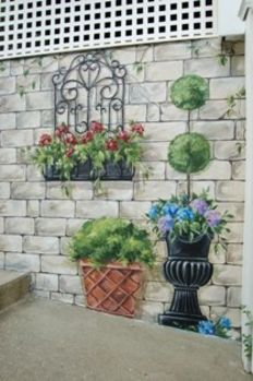 Murals, MacMurray Designs MacMurray Murals Renee MacMurray Boston Mural  House Portraits Hingham, MA Exterior · Mural PaintingWall ...