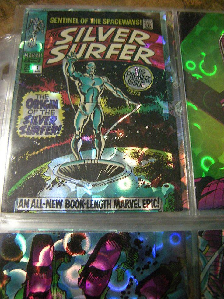1992 Marvel Silver Surfer Foil Trading Card Set, missing # 3 & 30