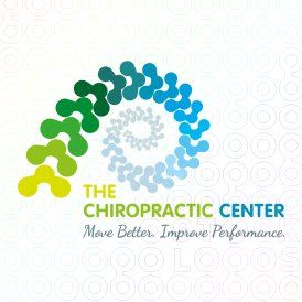 Chiropractic Center logo - I like this spiral logo, we could add our catalyzing statement to it too