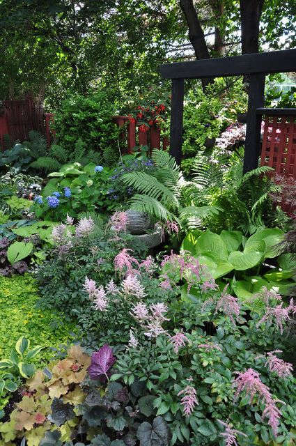 HOW TO Have a Beautiful Spring Garden in the Shade!