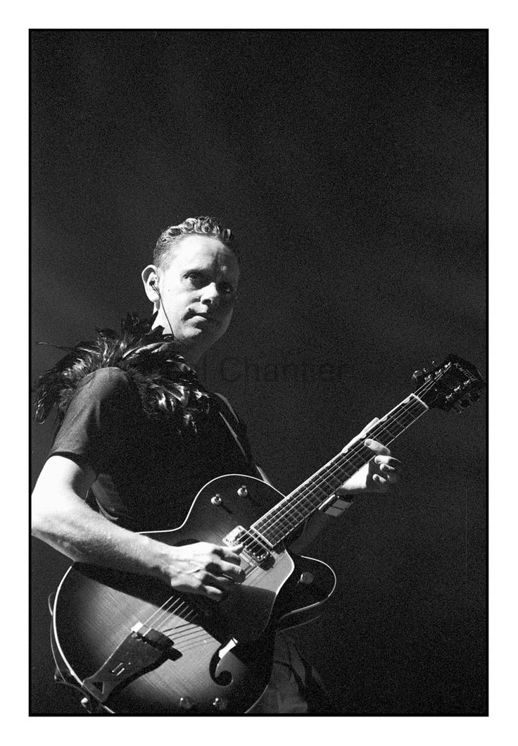 Martin L. Gore - Exciter Tour - Photo by Pascal Chantier