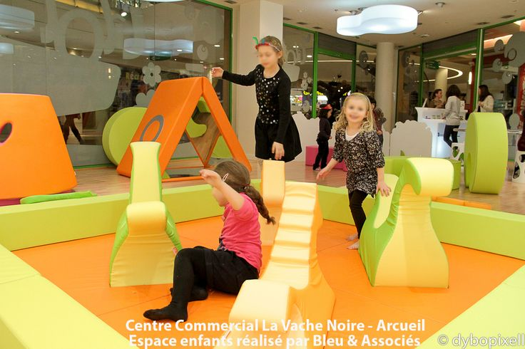 L'Ilot enfants au centre commercial La Vache noire