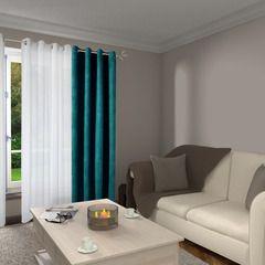 Laissez-vous séduire par ce magnifique rideau VELVET !   Le coloris bleu paon, à la fois doux et lumineux, sublimera vos fenêtres. Sa texture en suédine réchauffera votre intérieur pour créer un environnement convivial et douillet. Il apportera beaucoup de charme et de raffinement à votre intérieur !