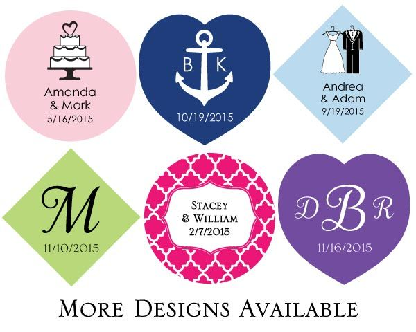 PERSONALIZED TAGS (SET OF 36)