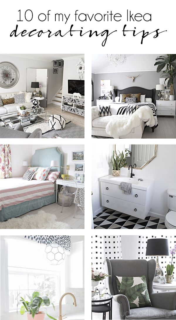 10 of my favorite Ikea decorating tips in my own home