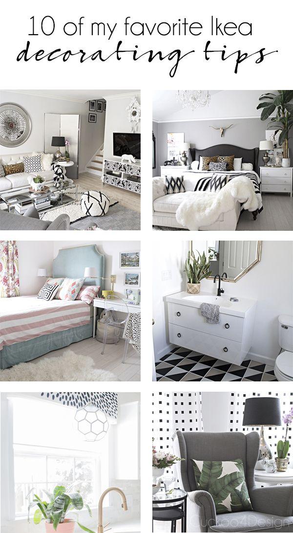 My 10 favorite Ikea decorating tips - Cuckoo4Design