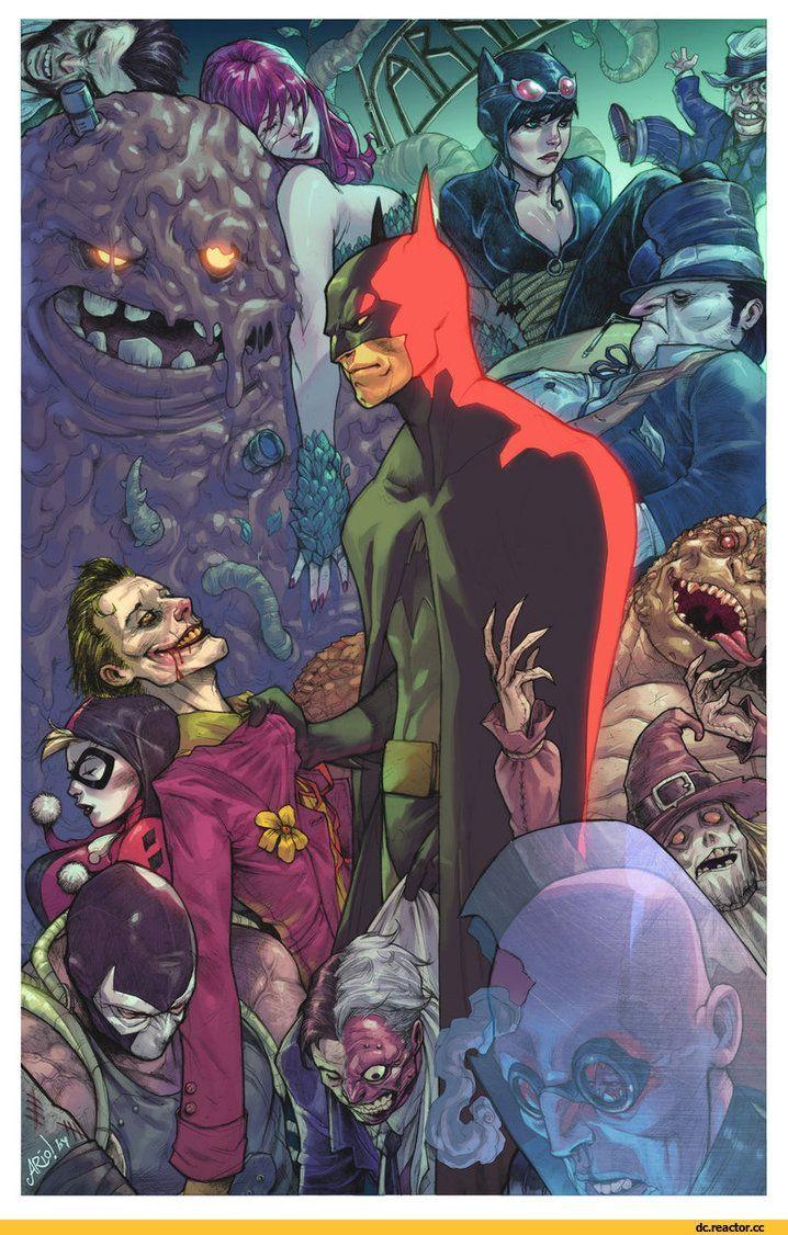 Batman,Бэтмен, Темный рыцарь, Брюс Уэйн,DC Comics,DC Universe, Вселенная ДиСи,фэндомы,Joker,Джокер, Клоун-принц преступного мира,Poison Ivy,Ядовитый Плющ, Памела Айсли,Catwoman,Женщина-Кошка, Селина Кайл,Scarecrow,Пугало, Джонатан Крейн,Scarface,Penguin,Пингвин, Освальд