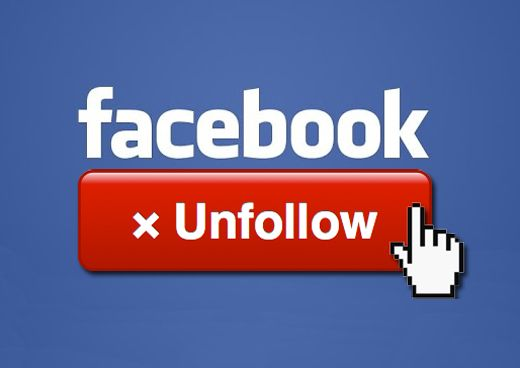 Unfollow di Facebook