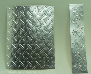 How to Dry Emboss with Aluminum Foil