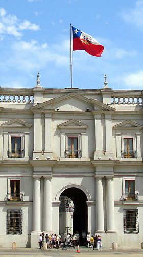 La Moneda. Santiago de Chile