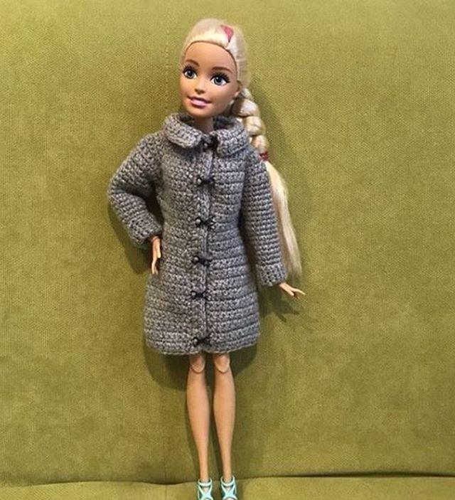 фото схема вязания пальто для барби спицами отличался добродушием мягкостью