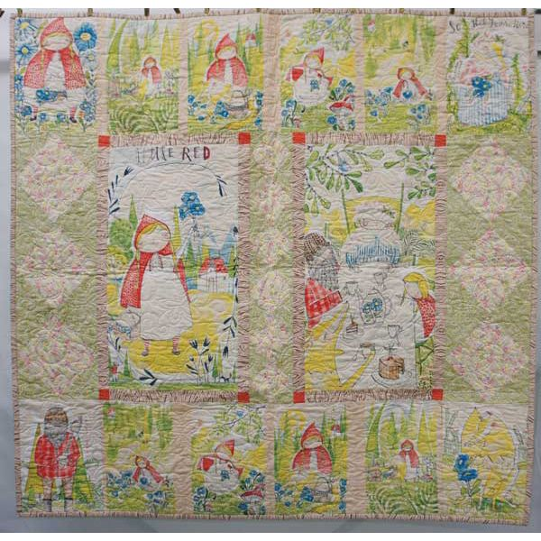 Blend Fabrics Little Red Cori Dantini Fairy Tale Quilt Kit