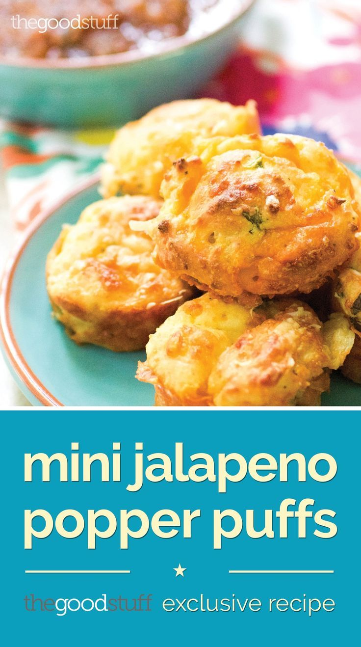Get Hot with Mini Jalapeno Popper Puffs - the Perfect Holiday Party Appetizer!