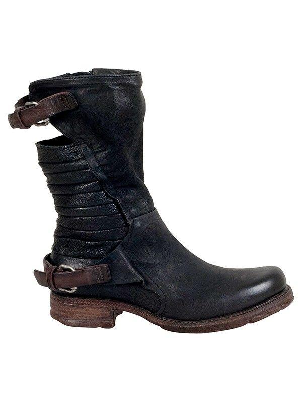 Serge - Womens biker boots #boots