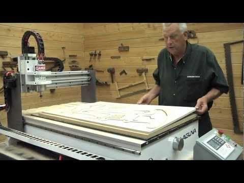 Laguna Tools CNC IQ 2 Woodworking Machinery. Visit us at www.lagunatools.com
