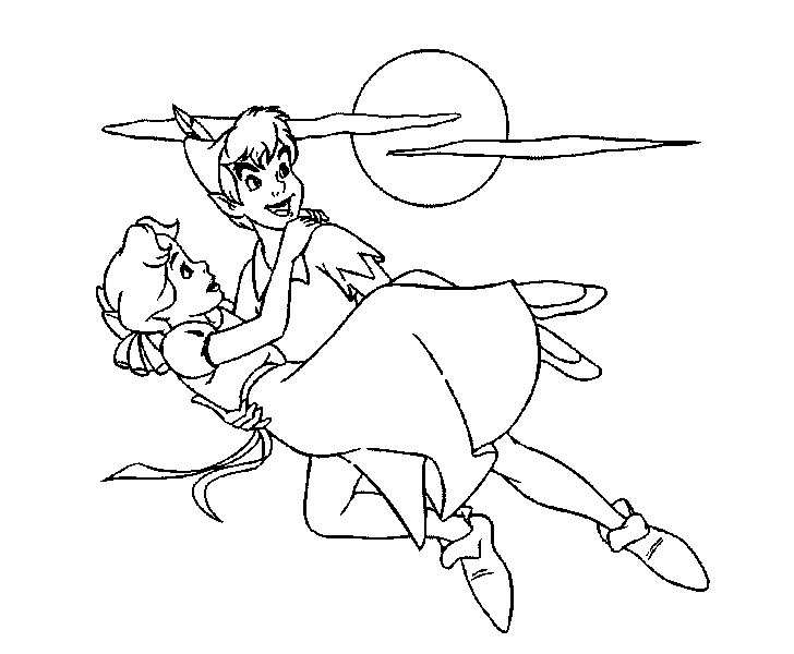 Peter Pan Help Back Wendy Darling