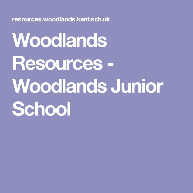 woodlands junior homework help