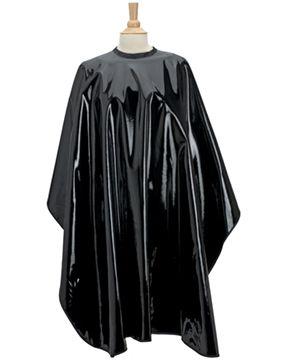 Shiny PU all-purpose salon cape