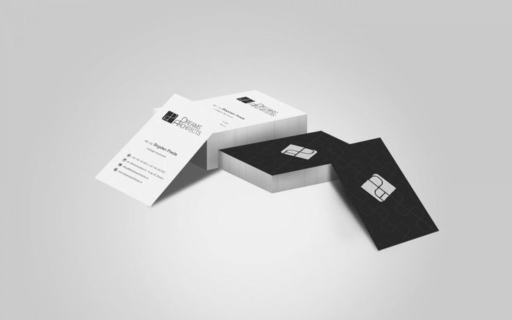 Dreams Architects (business card)