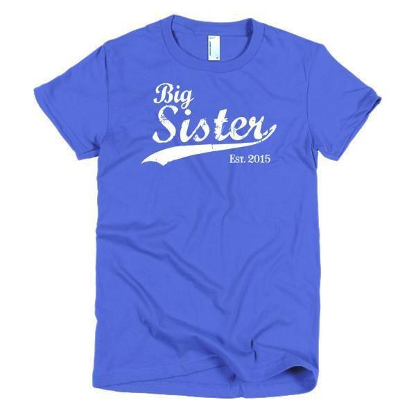 Women's Big Sister Est 2015 T-Shirt
