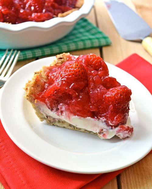 Superbly Sweet Strawberry Pie | Desserts | Pinterest