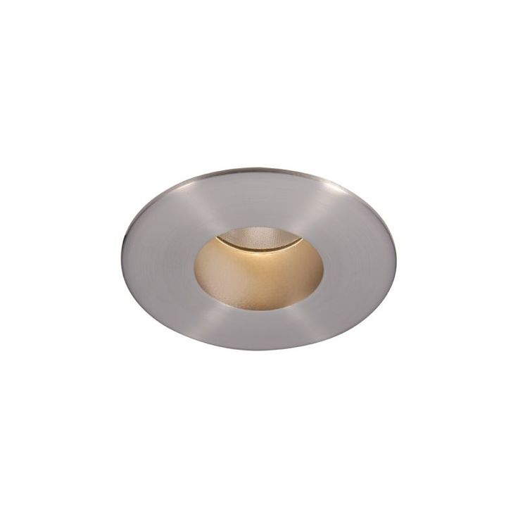 "WAC Lighting HR-2LED-T109N-W 2"" 3000K High Output LED Recessed Light Open Trim Brushed Nickel Recessed Lights Recessed Trims Open Trims"